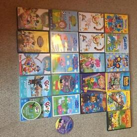 Children's DVD bundle