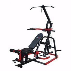 Bodymax CF500 Leverage Gym With Bench and Preacher