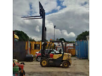 Doosan 3 ton Diesel forklift with sideshift, only 8000 hrs, Full free lift, container spec.