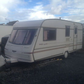 Bailey Champagne Caravan 4 Berth