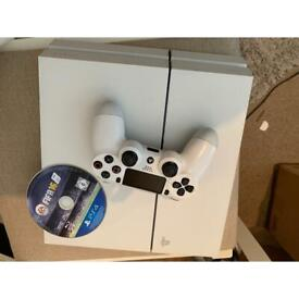 PS4 console limited edition white AS NEW