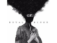 2 Royal Blood Tickets! Face value!