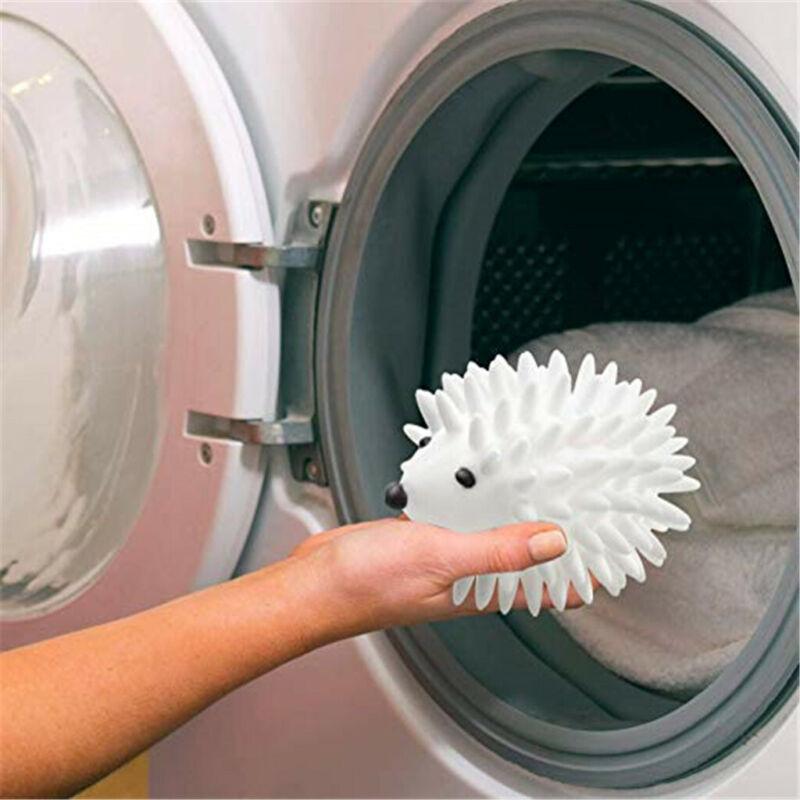 3pcs Hedgehog Dryer Ball Reusable Anti Static Wrinkles Laund