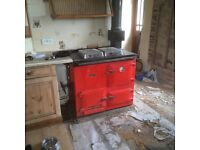 LPG rayburn hot water cooking central heatinf