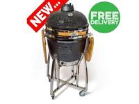 "21"" Ceramic Kamado BBQ GRill, Smoker and Oven Charcoal BBQ GRILL RRP £900"