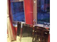 Shower door, 10mm glass, 180cm x 75cm door, almost as new