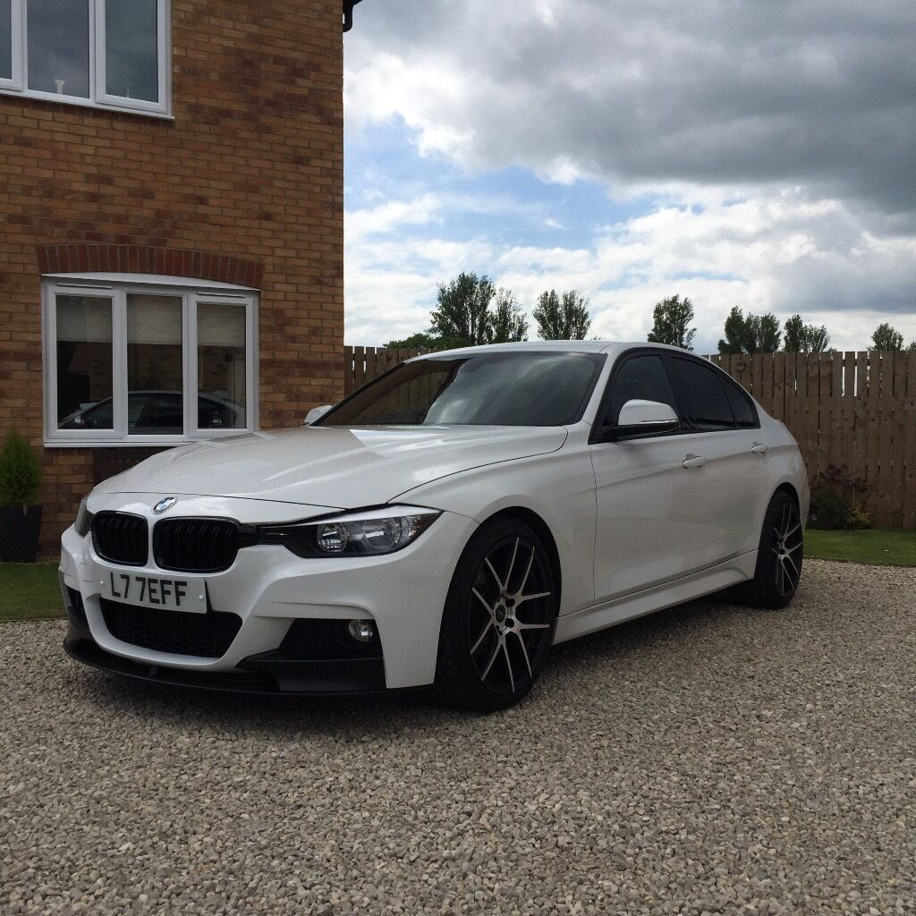 bmw f30 318d m sport in hartlepool county durham gumtree. Black Bedroom Furniture Sets. Home Design Ideas