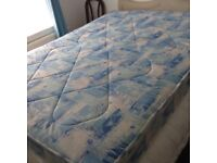Double sprung mattress as new. Only used a few times on guest bed