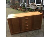 Beech Television cabinet with pop up Tv facility