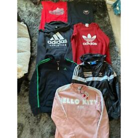 Teenager branded clothes bundle Adidas / Nike / puma