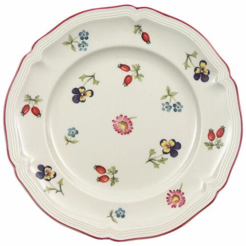 "Villeroy & Boch Petite Fleur Salad or Dessert Plates ~ 8 ""  Set of 2 + a Bonus"