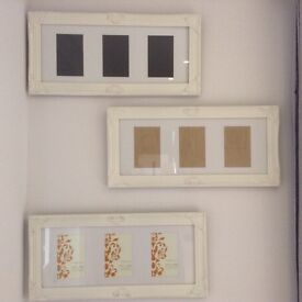 Three photo frames for sale