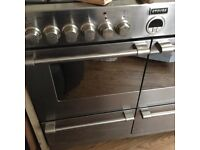 Range cooker Stoves 1000 duel fuel stainless steel.