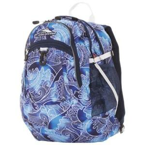High Sierra 64020-5824 Tablet Day Backpack - High Tide/True Navy/White (New Other)