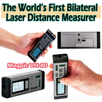 Magpie Vh-80 Bilateral Laser Distance Measuring Tool Home Construction Device