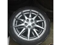Golf Gti alloys gum metal grey Color 16inch 150£
