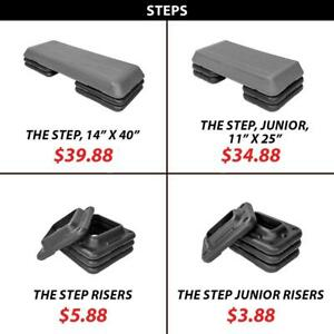 Steps Stepper Plyo Bodyweight Exercise Cardio Endurance Strength Training Stepping Leg Workout The Step