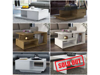 BRAND NEW COFFEE TABLES FROM £59-£95