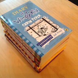 Diary of a Wimpy Kid 4 paperbacks.