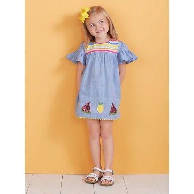 Mud Pie E8 Baby Kleinkind Mädchen Sommerspass Frucht Kleid 1142249 Größe Wählen