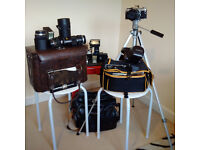Olympus OM-2 Camera + Equipment for sale