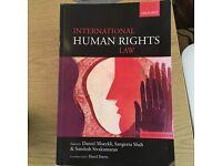 Textbook Law - Moeckli, Shah, Sivakumaran International Human Rights Law 2nd edn