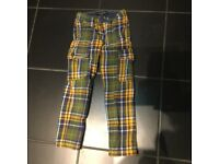 Mini boden boys trousers, age 6 yr