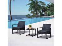 **FREE UK DELIVERY** Outsunny 3 Piece Garden Outdoor Set - BRAND NEW!