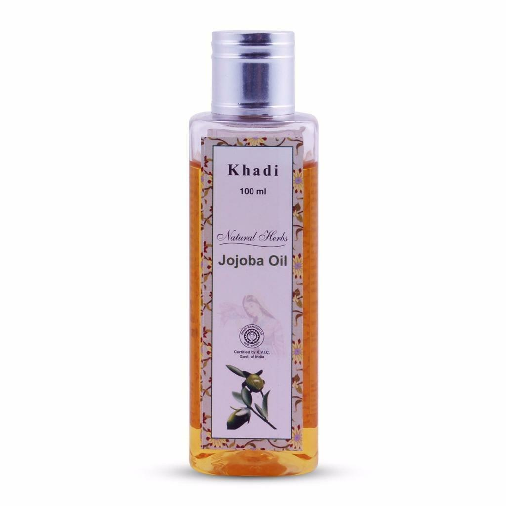 Khadi Natural Herbs Jojoba Massage Oil Regenerate Mature Dam