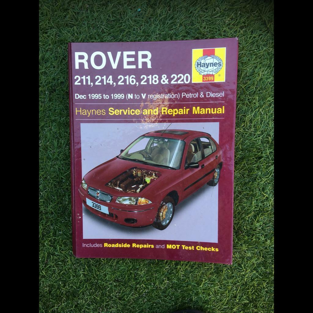 rover 200 workshop manual