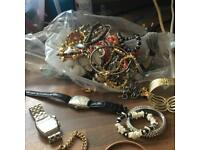Lots of costume jewellery