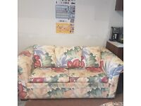 Attractive Sofa bed, High Quality (heavy) collection only, easy access as selling from my shop