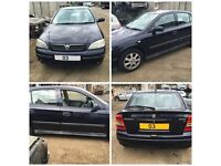 Vauxhall Astra 1.4 Manual Petrol Saturn Blue Z21A 2003 Front Bumper All Car Parts Available