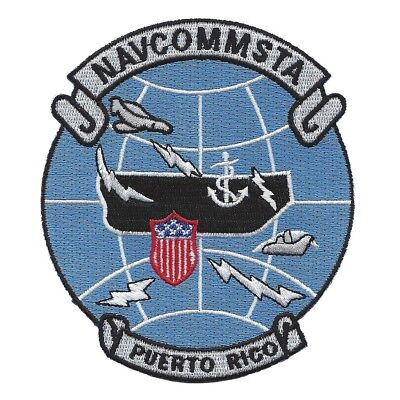 US Naval Communication Station NAVCOMMSTA PUERTO RICO Military Patch