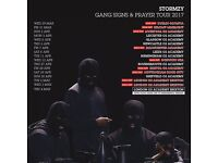 4x Stormzy standing tickets, O2 Glasgow Academy, Wednesday 5th April 2017