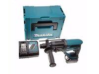 Brand new Makita DHR202RM1J 18V Cordless li-ion SDS+ Rotary Hammer Drill (1 x 4Ah Battery)