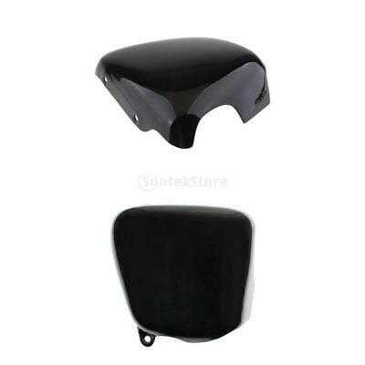 2x Side Oil Tank Battery Covers Fit for Triumph Bonneville T100 01-15 Glossy