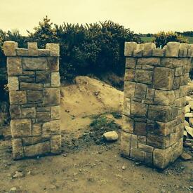 Grey & Brown Mourne Granite Building Stone