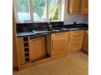 Complete used Kitchen with appliances & Quartz worktops