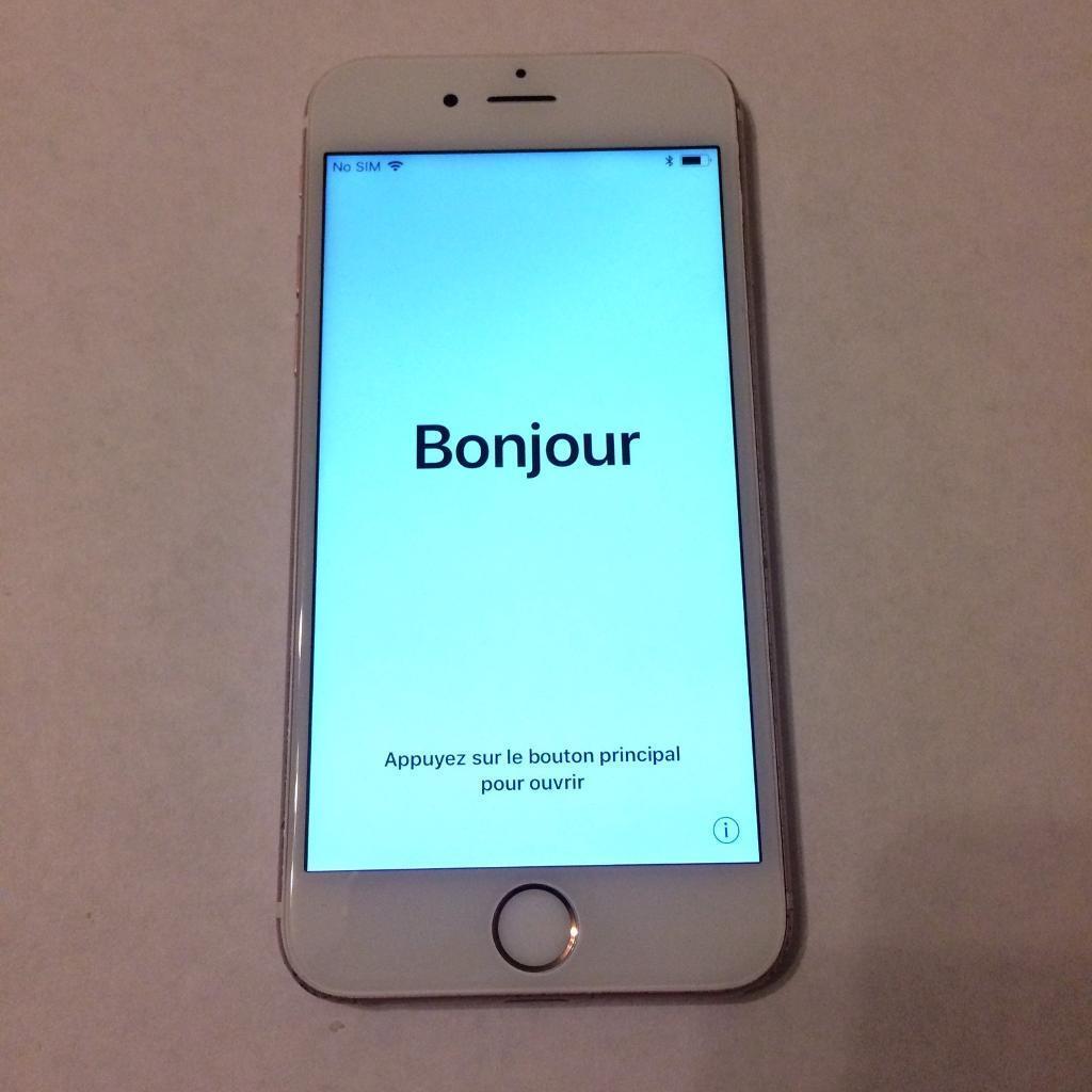 iPhone 6s 16GB/ Rose Gold