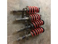Ford Mondeo Lowering springs and shockers