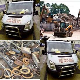 Free collect to any scrap metal