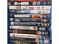 Loads of blue ray DVD's sold separately or as job lot.