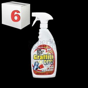 Graffiti Off Pro 32 Ounce Paint Remover Case Of 6