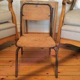 Vintage Childs Wooden School Chair