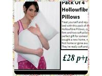 Hollowfibre pillows pack off 4