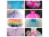 Party/birthday dress custom orders for your little princess