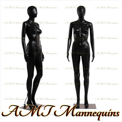 Female Display Mannequin Metal Standarms Turn Black Full Body Manikin-fc-7b