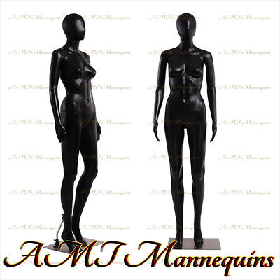 Female Display Mannequin Metal Standarms Turn Black Full Body Manikin-fc-7b
