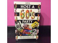 Host a 60's Party Game BNIB